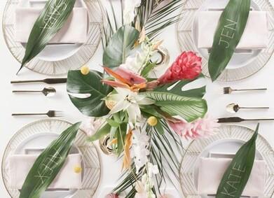 Свадьба без цветов: 16 идей альтернативного декора
