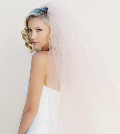 фата, невеста, длинная фата, средняя фата