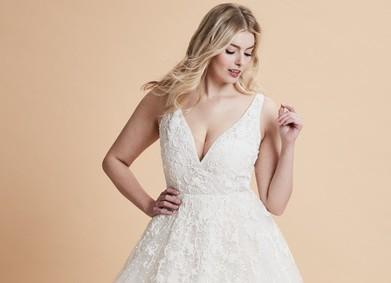 Свадебные платья для невест с пышными формами: размер не помеха красоте