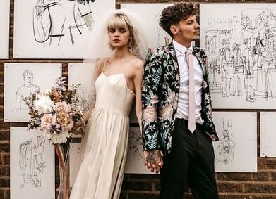 Свадьба в стиле Урбан-шик: романтика большого города
