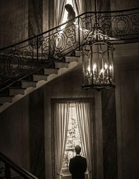 свадебная фотосессия в старинном доме