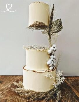необычный торт свадебный