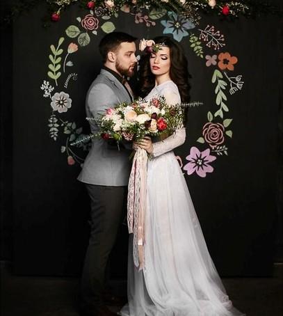 фотозона на свадьбу, свадебное фото, красивый свадебный декор, оформление фотозоны на свадьбе