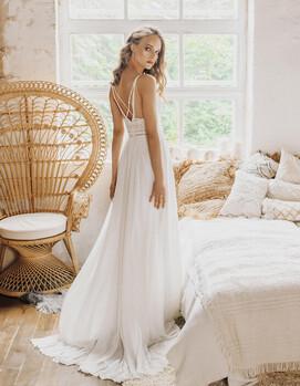 свадебное платье бохо украина