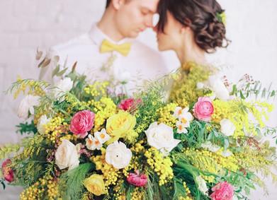 Свадьба весной - цветовая гамма, идеи по декору и флористике