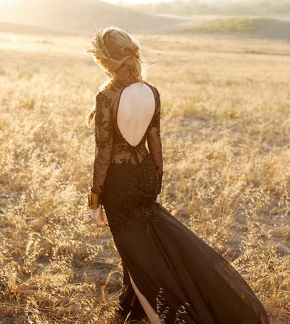 невеста, свадебное фото, свадебное платье чёрное, чёрная свадьба, невеста в чёрном
