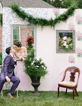 фотозона на свадьбу, место для фото, свадьба