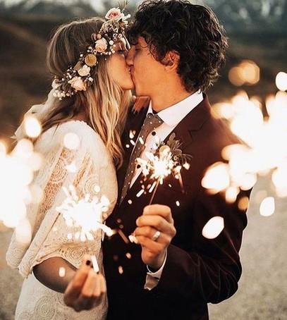 свадьба бенгальские огни