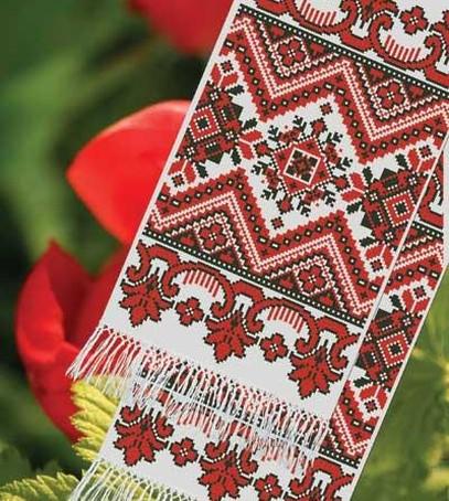 украинский рушник, рушник на свадьбу, свадебные традиции в украине, вышитый рушник