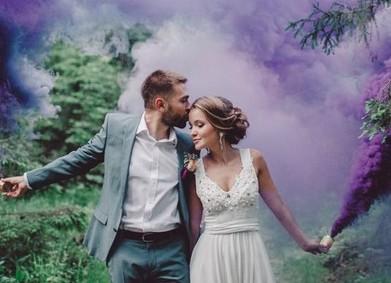 Цветные дымовые шашки: за и против