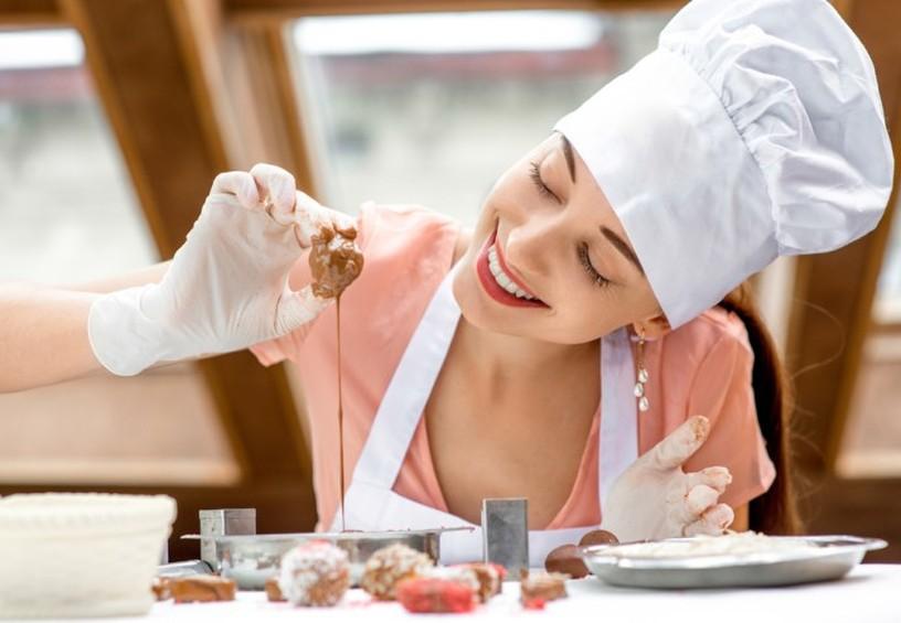 сладости, приготовление сладостей, мастер-класс по шоколаду, идея для девичника, мастер-класс для девушек