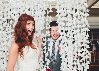 Воздушная гирлянда для свадебной арки или фотозоны: дёшево, просто и красиво
