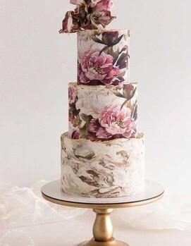 свадебный торт красивый