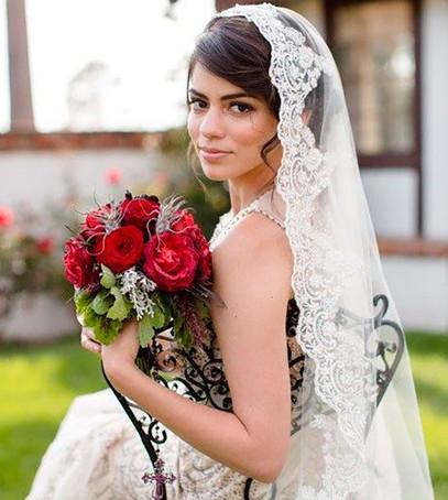 фата мантия, мантилья, невеста, свадебный образ, фата средняя