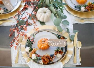 Свадьба осенью: идеи декора по сезону