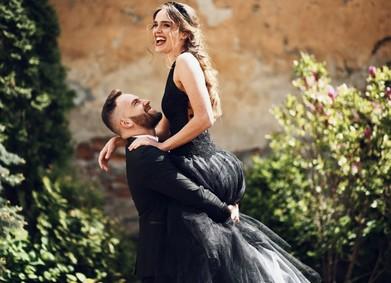 Чёрное свадебное платье – тренд или бред?