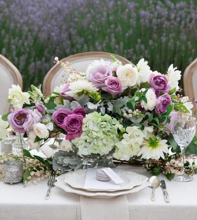 свадебная флористика, банкет, сервировка столов на свадьбу