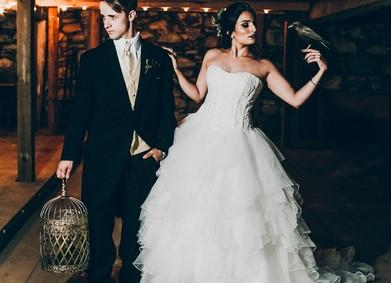 Свадьба в готическом стиле: Хэллоуин близко!