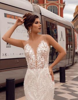 дизайнерское сваденое платье в украине
