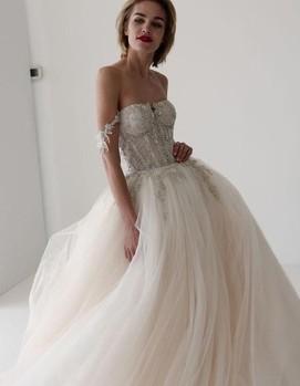 свадебное платье тренды 2020