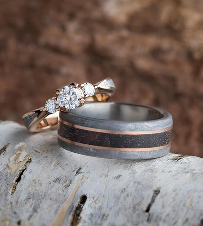 красивые кольца для молодожёнов