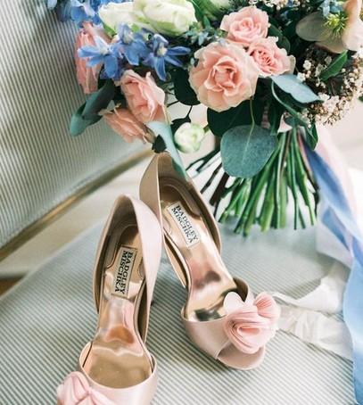 розовые туфли на свадьбу