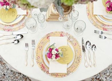 Сервировка свадебного стола: искусство в деталях