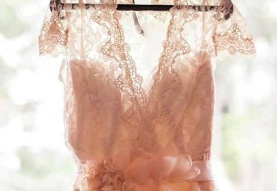 платье на свадьбу в стиле шебби-шик
