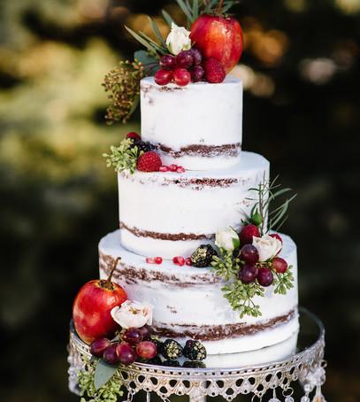 свадебный торт, многояпусный торт на свадьбу, торт Рустик, эко торт