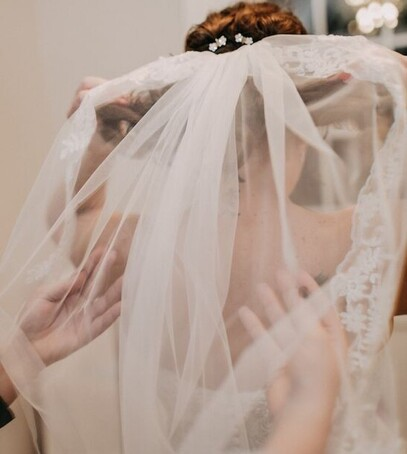 снятие фаты на свадьбе