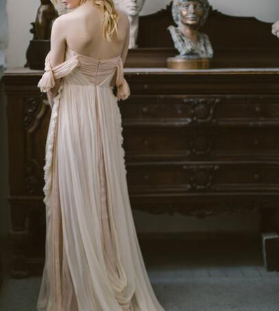 нежное свадебное платье украина