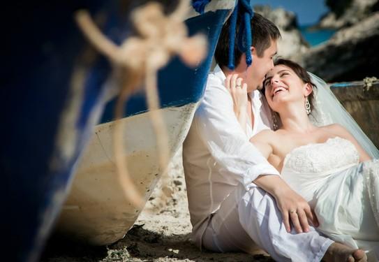 Морская свадьба фото