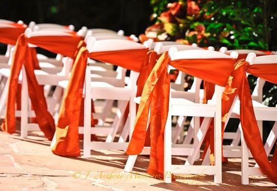 свадьба в оранжевом цвете, декор свадьбы в оранжевом цвете