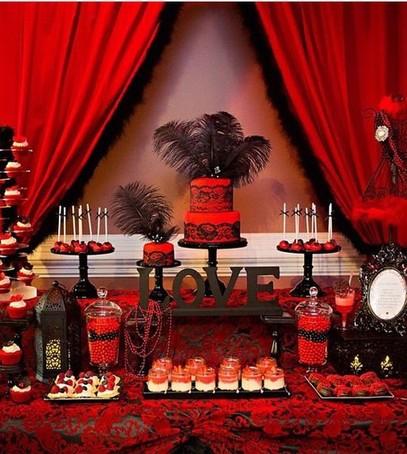 декор свадьбы в ретро стиле