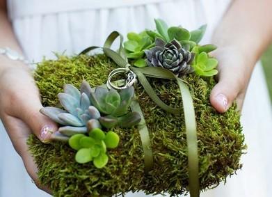 Цвет свадьбы – природная Зелень (Greenery)