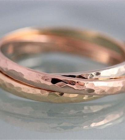 trinity, тройное обручальное кольцо, необычное кольцо невесты
