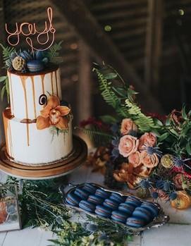 свадьба осенью цвет