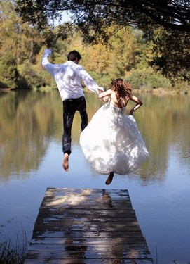 свадебная фотосессия экстрим