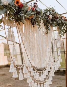 свадьба бохо декор
