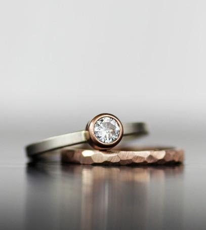Кольца невесты и жениха