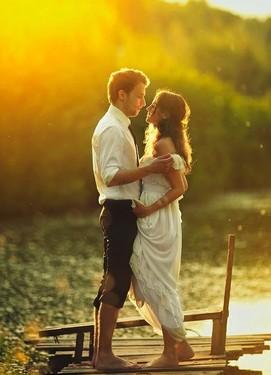 свадебная фотосессия у реки