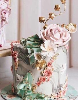 свадебный торт маленький