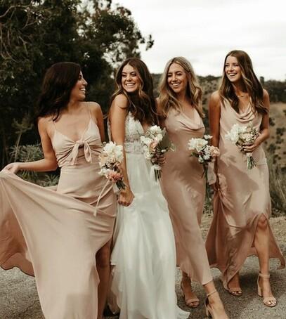 подруги невесты платья