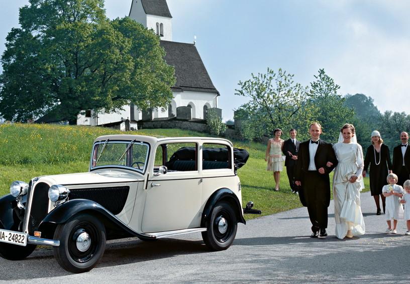 ретро автомобиль, свадьба в ретро стиле