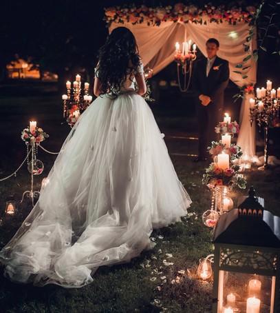 выездная церемония, выездная регистрация, выездная свадьба, ночная выездная церемония