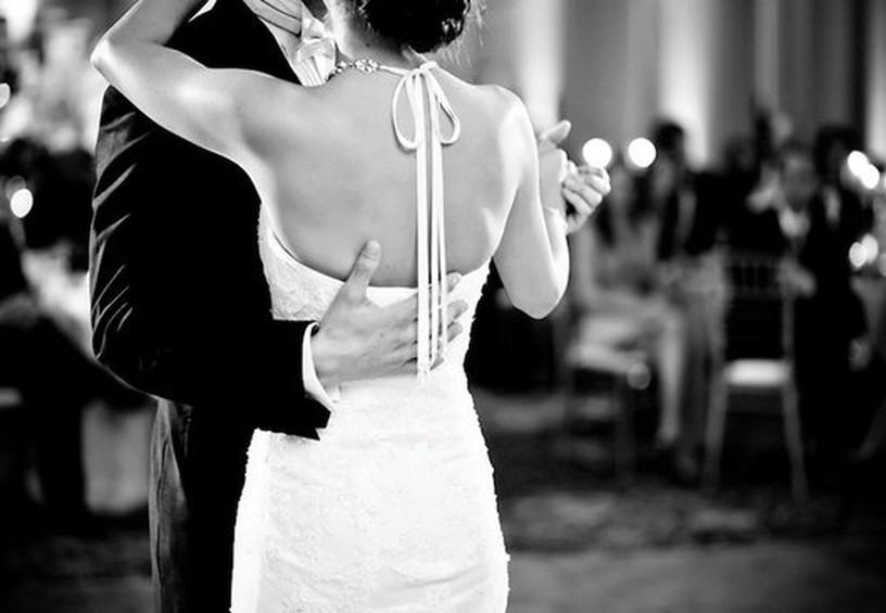 свадьба в стиле тиффани, ретро-свадьба, танец молодожёнов в стиле тиффани