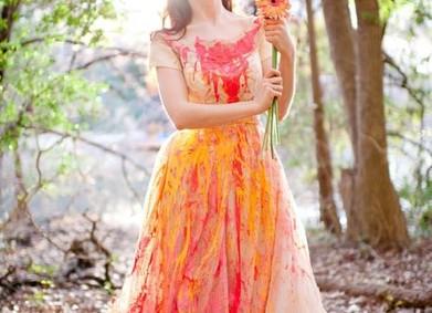 Вариант для смелых – фотосессия Trash the Dress