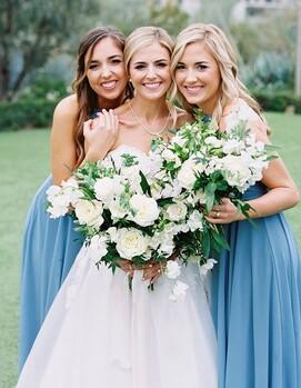 подружка невесты на свадьбе