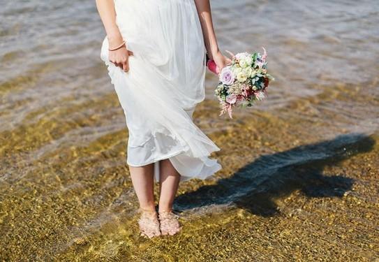 свадьба на море,свадьба на пляже