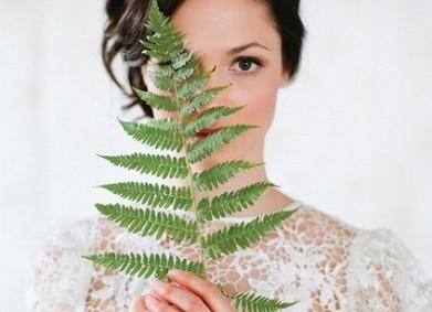 Стиль свадьбы Ботаник: зелень творит чудеса